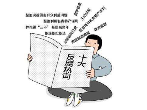 申论积累:2019年度十大反腐热词!